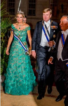 Europe's Royals — royalwatcher: King Willem-Alexander and Queen...