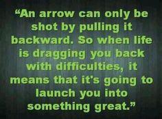 Be an arrow ...