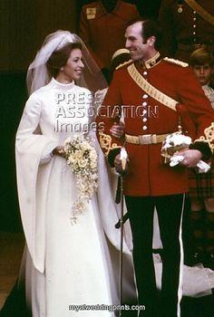 Capitán Mark Anthony Phillips & Princesa Ana del Reino Unido