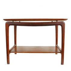 '50s Peter Hvidt Teak Table, $795, now featured on Fab.