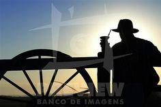 Nascer do sol nos campos de Encruzilhada do Sul, a 160 Km de Porto Alegre.