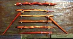 Hair Stick  Hand carved from cedar BUY 2 GET 1 by AllThingsWood, $13.00