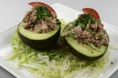 Avocado med tunfyld