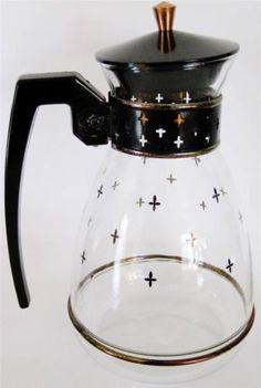 Vintage Silex Coffee Pyrex Carafe LCR 8 Mid Century Modern MCM Retro Vtg Glass | eBay