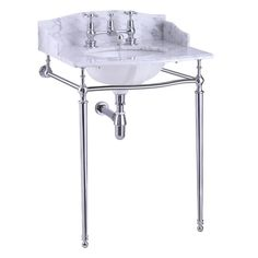 Marble Top Basin, Back Splash Only. Marble Top Basin, Back Splash & Side Splash. The beautiful pebble grey marble can be added to various wash stands or even wooden vanity units. Pop Up Bath Waste Wooden Vanity Unit, Burlington Bathroom, Carrara Marble Countertop, Wash Stand, Victorian Bathroom, Bathroom Basin, Marble Bathrooms, Splashback, Marble Top