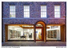 Gravesend Library Refurbishment 2011, Kent, UK. Architect: Clay Architecture