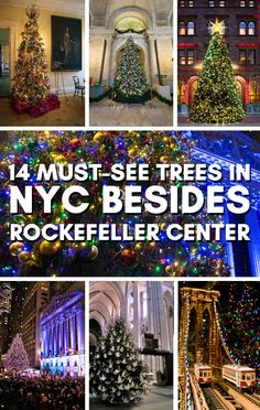 14 must see trees in nyc besides rockefeller center christmas funchristmas decorationschristmas time is