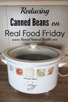 Using dry beans in recipes is an economical way to enjoy beans without added chemical preservatives and BPA lining often found in canned beans.