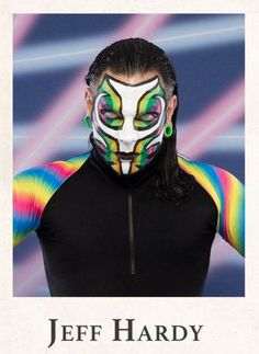 Rey Mysterio 619, Jeff Hardy Face Paint, Best Wwe Wrestlers, Hardy Brothers, Wwe Jeff Hardy, The Hardy Boyz, Wwe Pictures, Wwe Stuff, Creatures Of The Night
