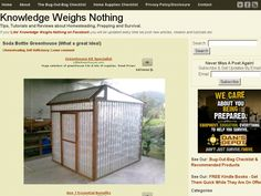Soda Bottle Greenhouse - Knowledge Weighs Nothing