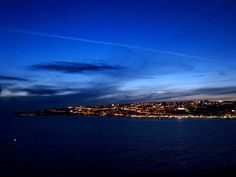 Naples, Italy at night  from http://www.nonstopfromjfk.com/exploring-naples-italy/