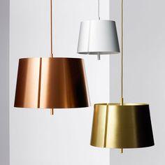 Lindvall - euroluce - suspension lights in bedroom