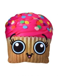 Cupcake Food Pillow THIS IS AWESOME I WANT IT!!