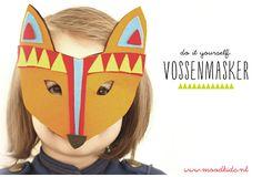 Download - DIY Vossen Masker