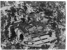 and the Chalet. Vintage Ski, Aerial View, Vintage Photos, Buffalo, Melbourne, Skiing, Victoria, Australia, Bright
