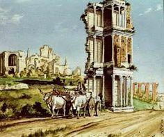 Del resto Papa Sisto, come la maggioranza dei Papi, non apprezzava le opere dell'antichità: le colonne di Traiano e Marco Aurelio vennero usate come ...