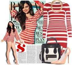 """""""Style Diary - Selena Gomez"""" by indu221 ❤ liked on Polyvore"""