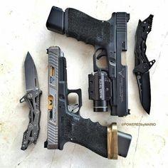 tacticalbadass: 100% match! - @poweredbymario #guns #igmilitia #gunporn #guns #weapons #firearms #tactical #badass #edc #tacticalbadass #2A #dope #secondamendment #molonlabe #gunpics #collection #weaponsdaily #gunsdaily #gunsdaily1 #sickguns #firearmphotography #igarmy