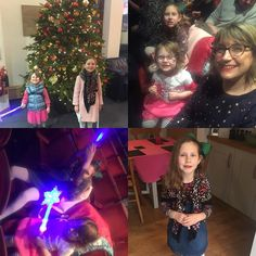 #pantomime fun! Ridiculous light up wands sweet eating a photo by a kind colleague and the enormous #christmastree in the office when we went in for an emergency loo stop.    #embracetheseasons #writemorelivemore #happinessproject  #happier2017 #light #sparkle