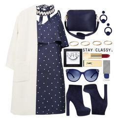 """"""""""" by fashioneex ❤ liked on Polyvore featuring WithChic, Topshop, MANGO, Casadei, Humble Chic, NARS Cosmetics, Rebecca de Ravenel, Yves Saint Laurent, Tory Burch and Burberry"""
