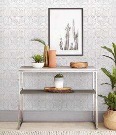 Tile Wall Mural Gray Wallpaper Tiles Mural Tiles Wall Paper