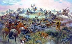 """George Custer Last Stand 