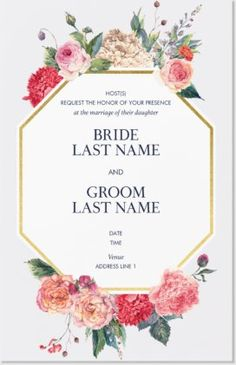 Design wedding invitations with Vistaprint! With hundreds of wedding invitation templates to choose from, there's something to suit all wedding themes and styles. Design your wedding invites now! Affordable Wedding Invitations, Inexpensive Wedding Venues, Beautiful Wedding Invitations, Vintage Wedding Invitations, Wedding Invitation Templates, Vista Print Wedding Invitations, Retirement Invitations, Shower Invitations, Wedding Themes