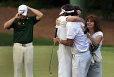 Sunday at The Masters: Celebration contrasts with disappointment