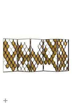 KOI Screen, on the spotlight at iSaloni, @BRABBU, interior design trends, trends 2014, modern interiors, nature inspired furniture, world cultures, cosmopolitan lifestyle, koi scales, brass