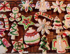 Galletas de Navidad para niños paso a paso: http://www.manualidadesinfantiles.org/galletas-de-navidad
