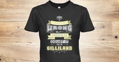 Discover May Be Wrong Gilliland T Shirts Women's T-Shirt from MAY BE WRONG NAME SHIRTS, a custom product made just for you by Teespring. With world-class production and customer support, your satisfaction is guaranteed. - MAY BE WRONG GILLILAND T-SHIRTS. IF YOU PROUD...