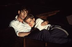 """Rupert Everett, Cary Elwes in """"Another Country"""" Gay Aesthetic, Couple Aesthetic, Pose Reference Photo, Drawing Reference Poses, Rupert Everett, Cary Elwes, Jm Barrie, Christopher Reeve, Cute Gay Couples"""