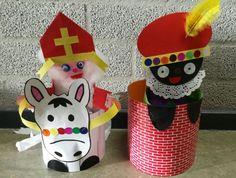 Sinterklaas, Piet en Amerigo.