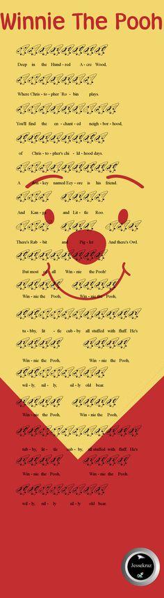Winnie The Pooh 12 Hole Ocarina Tab by jessekruz
