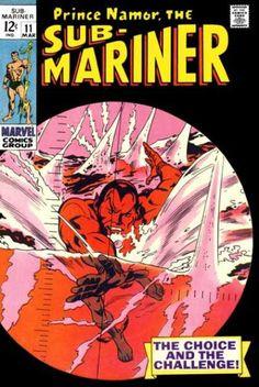 Prince Namor - Water - Choice - Challenge - Red - Gene Colan