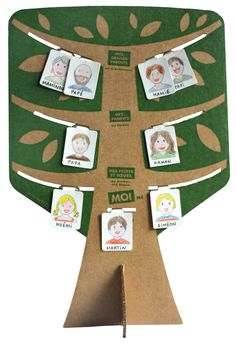 My Family Tree Project Cool Presents, Presents For Dad, Cardboard Toys, Beautiful Baby Shower, Family Day, Family Trees, Craft Activities For Kids, 4 Kids, School Projects