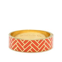 Kate Spade - Off The Beaten Path Hinged Bangle $128