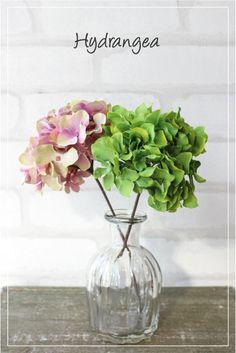 【造花ピック】*ハイドランジアピック(あじさい)32561*あじさい・紫陽花 Decor, Interior, Home Decor, Vase, Glass Vase, Glass