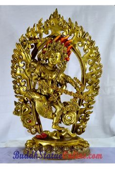 Kurukulla Full gold antiquated fine quality statue