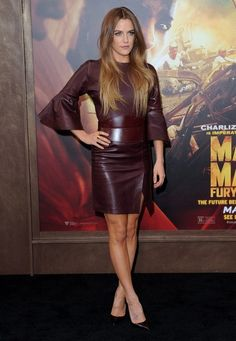More Pics of Riley Keough Leather Dress (22 of 22) - Leather Dress Lookbook - StyleBistro