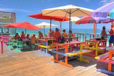 Nipper's Beach Bar & Grill   Great Guana Cay, Abaco, Bahamas