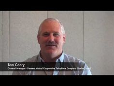 Tom Conry of Farmers Mutual Cooperative Telephone Company Supports FRS