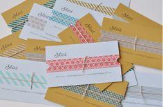 Mint Design Blog: Business Cards
