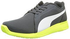 Puma ST Trainer Evo, Unisex-Erwachsene Sneakers, Grau (dark shadow-white 09), 40 EU (6.5 Erwachsene UK) - http://on-line-kaufen.de/puma/40-eu-puma-unisex-erwachsene-st-trainer-evo-4