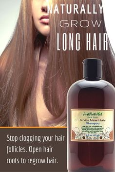 Grow New Hair Shampoo / Stop clogging your hair follicles. Open hair roots to regrow hair. Fast fix for weak hair. Regrow new stronger hair. Encourage your hair to grow faster longer and fuller with less breakage in a non-chemical way Grow Natural Hair Faster, Grow Long Hair, Hair Loss Treatment, Spot Treatment, Hair Treatments, Regrow Hair Naturally, Reverse Hair Loss, Hair Tonic, Hair Loss Shampoo