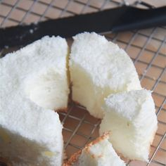 Angel Food Cake Recipe Desserts with superfine sugar, salt, cake flour, egg whites, warm water, orange extract, cream of tartar