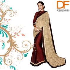 Triveni has the most gorgeous and regal collection of sarees created especially for you. COD available.