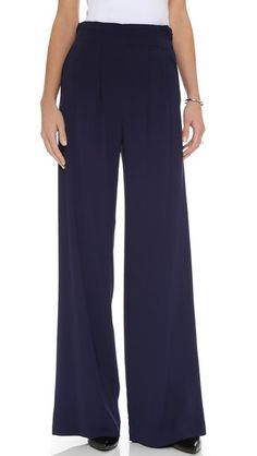 7648e0bd parker eldora pants in petrol | on the df | stylish Wide Leg, Personal Style