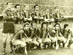 Equipos de fútbol: BARCELONA contra Español de Barcelona 04/03/1973