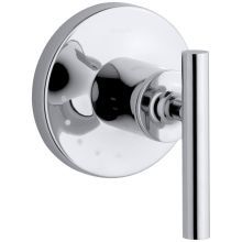 Kohler K-T72771-4-BV Vibrant Brushed Bronze Artifacts Volume Control Valve Trim with Lever Handle Control Flow, Control Valves, Shower Arm, Shower Faucet, Bathroom Sinks, Small Bathroom, Master Bathroom, Bathrooms, Bathtub